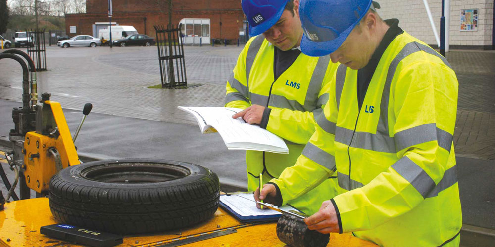 PN Daly LMS team checking coring sample