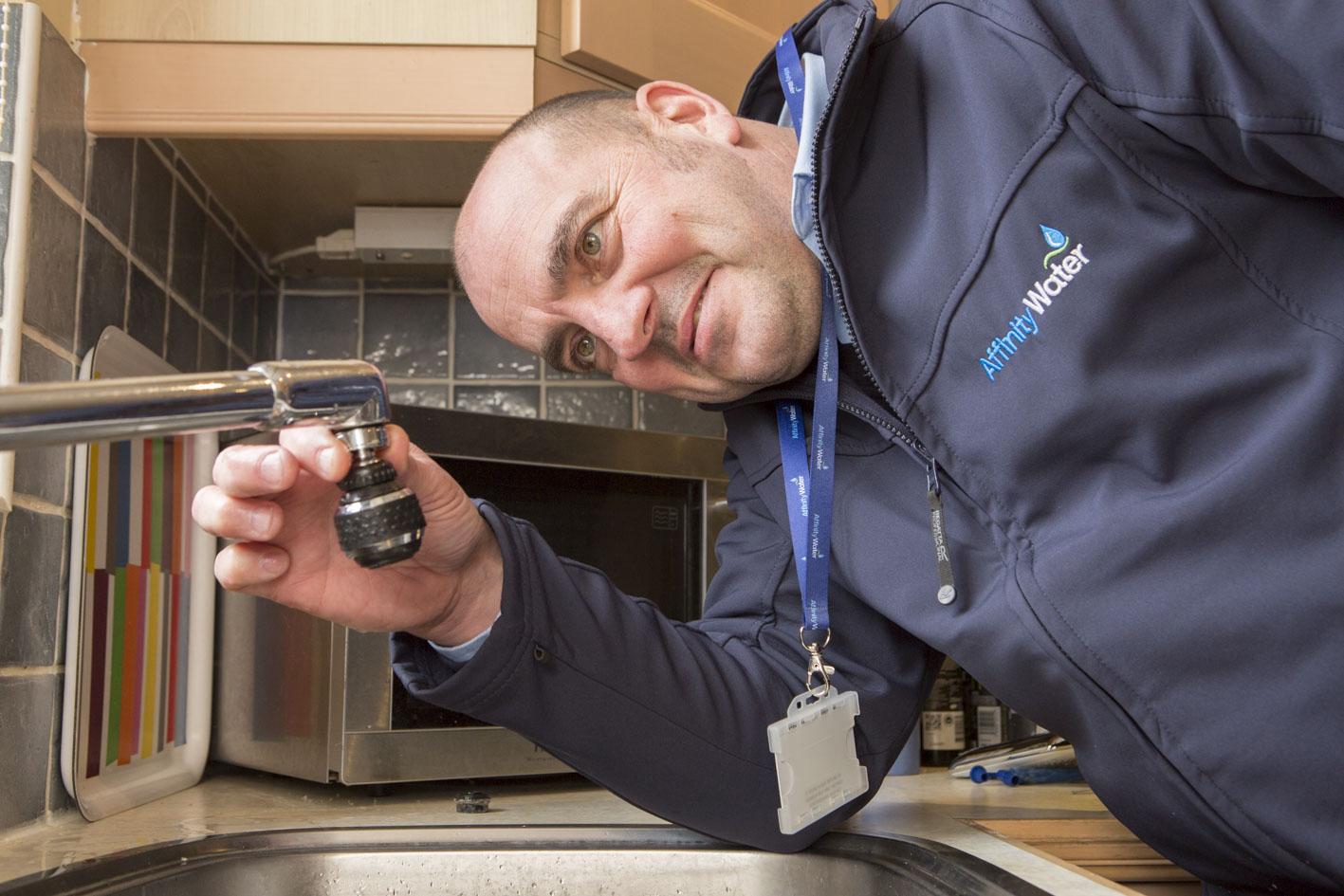 Home water efficiency test